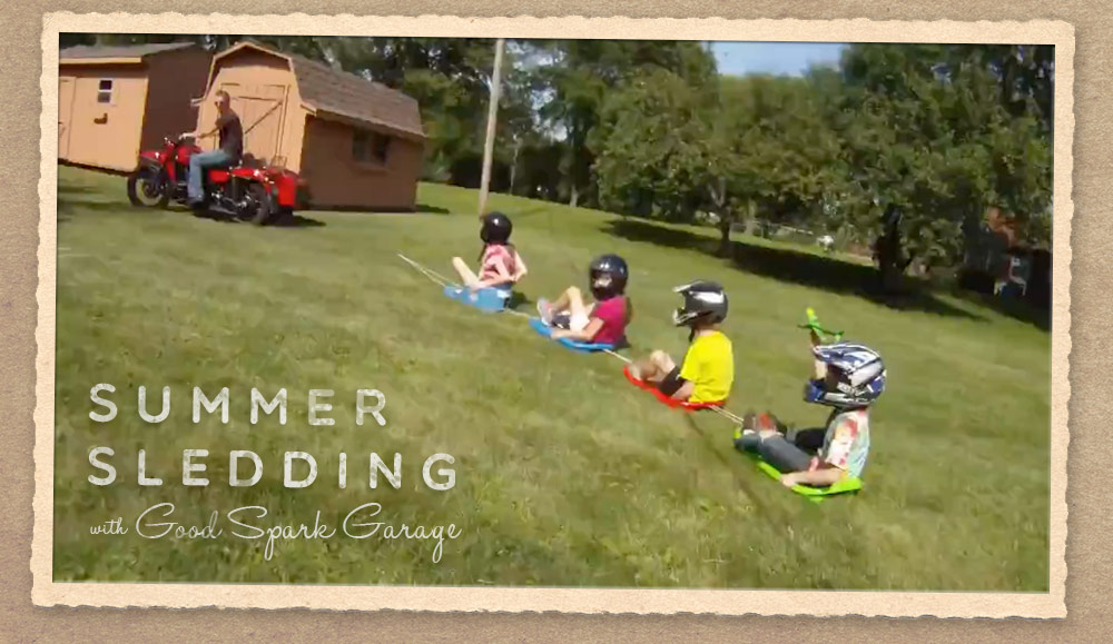 Summer Sledding with Ural Motorcycles