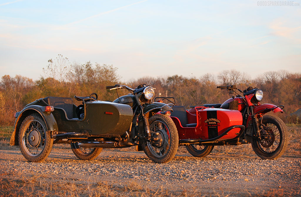 Ural Sidecar Motorcycles - Good Spark Garage
