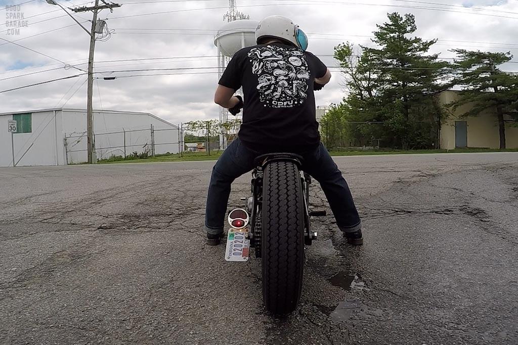 Moto Flash Tee :  Test Ride