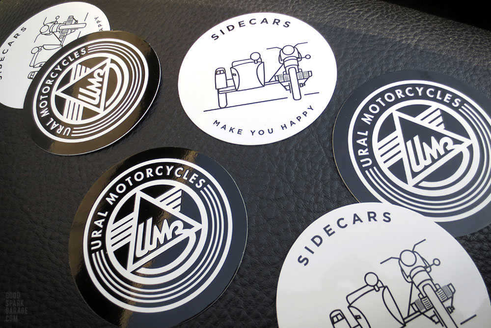 Ural Motorcycles stickers
