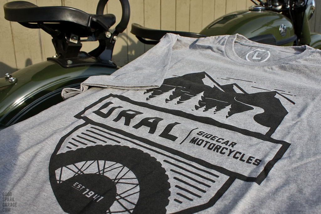 Ural Motorcycles Adventure T-Shirt - Grey