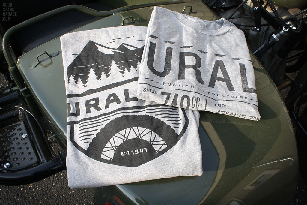 Ural Motorcycles T-shirts