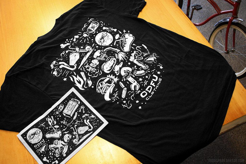 ODFU Moto Flash LTD T-shirt