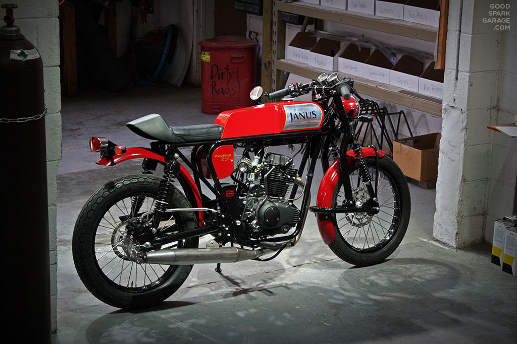 Small Motorcycle Garage