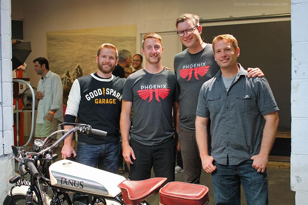 Janus Motorcycles and Good Spark Garage