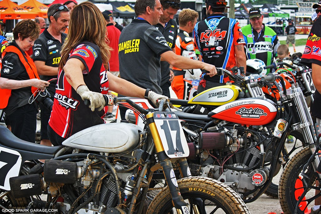 Indy Mile 2015 Flat Track Motorcycles