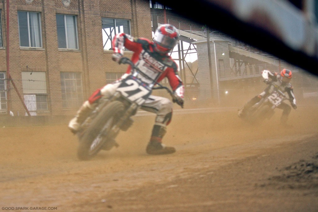 Indy Mile 2015 Flat Track Racing