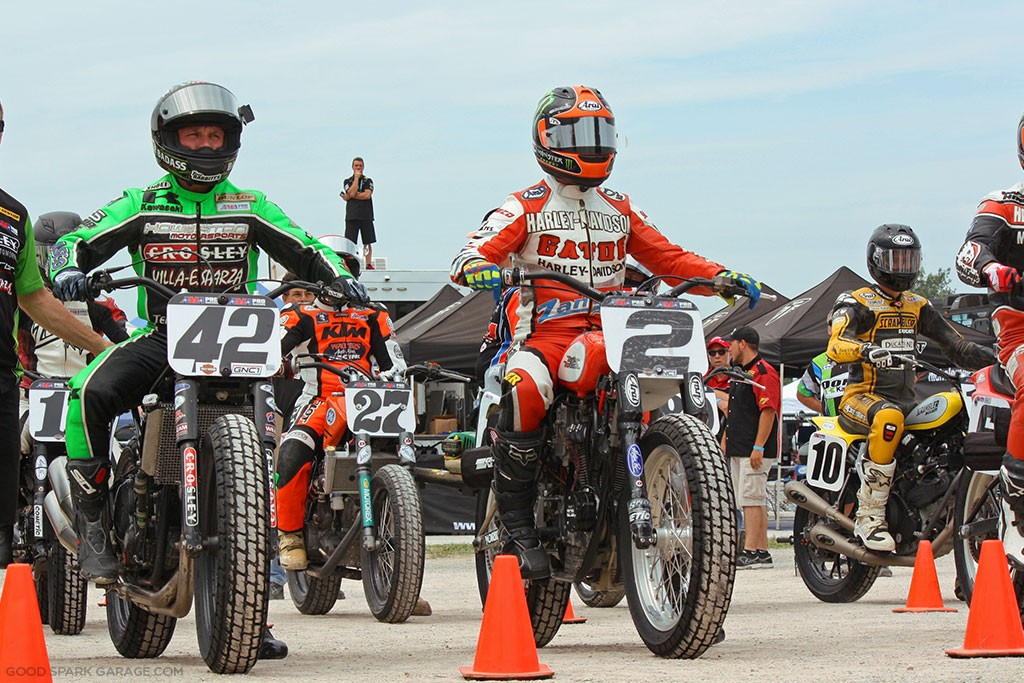 Indy Mile 2015 Flat Track Staging