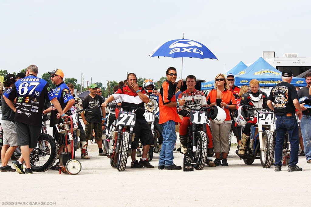 Indy Mile 2015 Flat Track Waiting