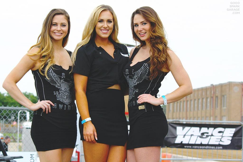 Indy Mile 2015 Harley-Davidson Girls
