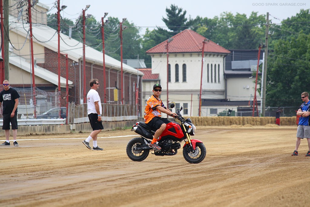 Indy Mile 2015 Jared Mees Track Check