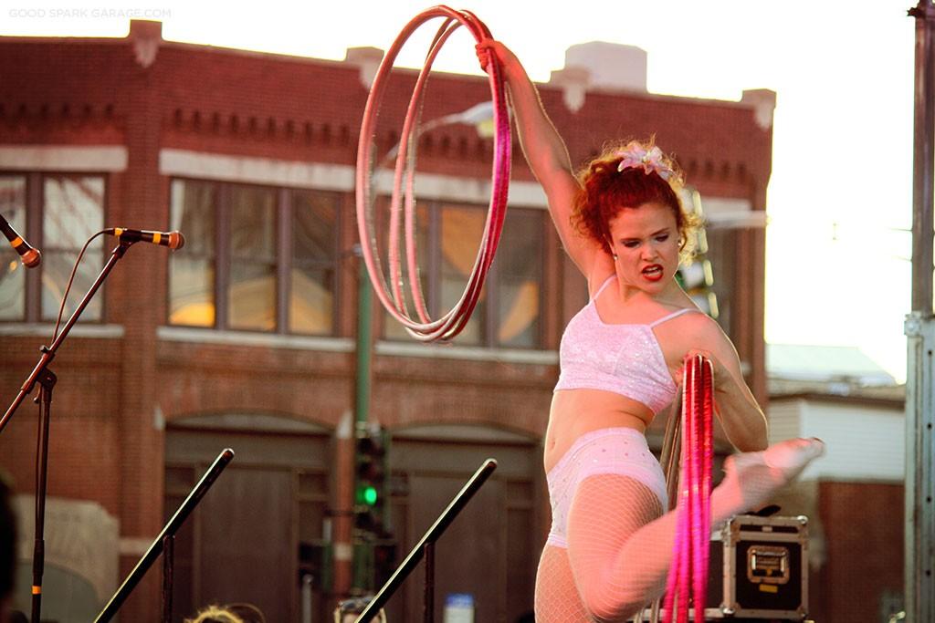 Hula Hoop Gal