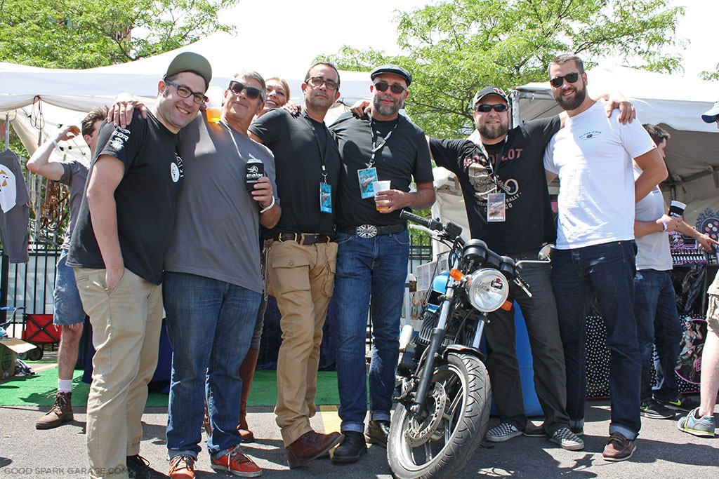 Motoblot 2015 Chicago Ton Up Club
