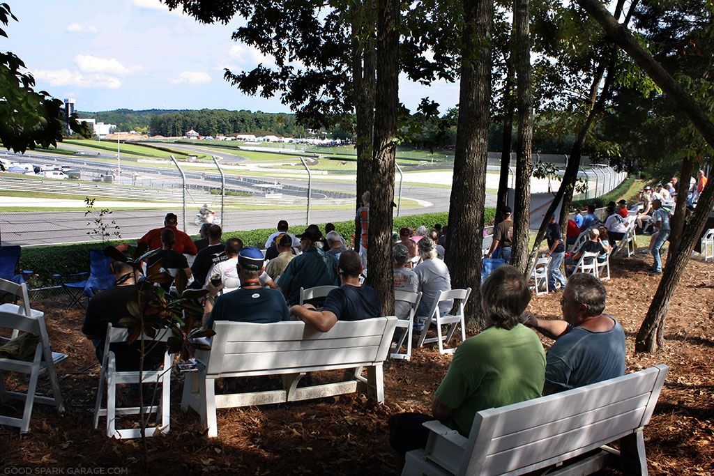 Best View at Barber Motorsports Park