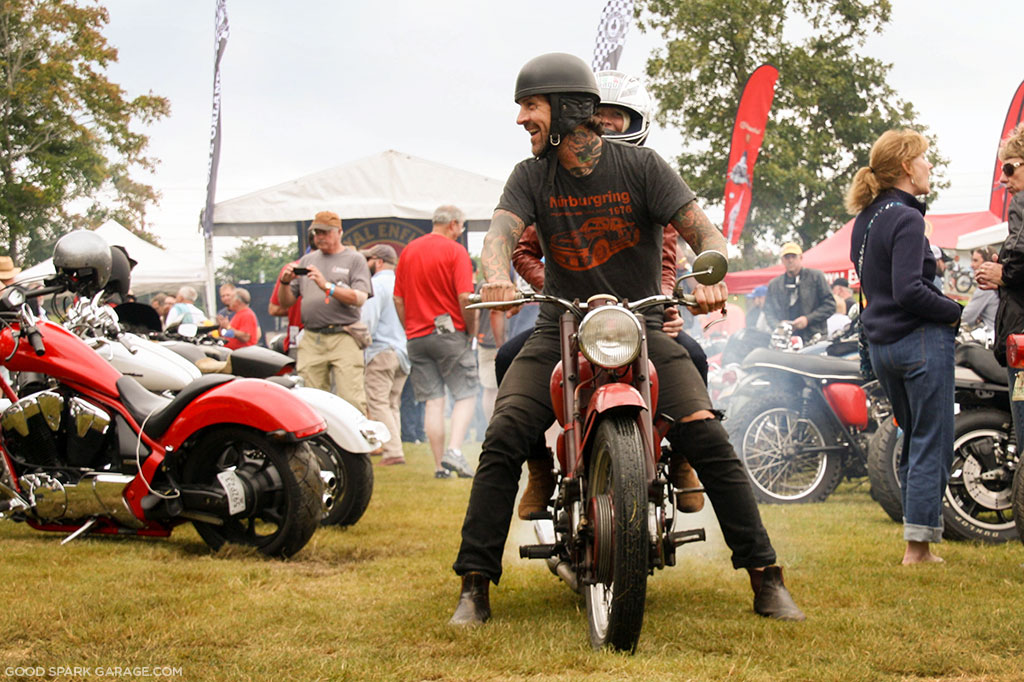 Vintage Motorcycle Show at Ace Corner