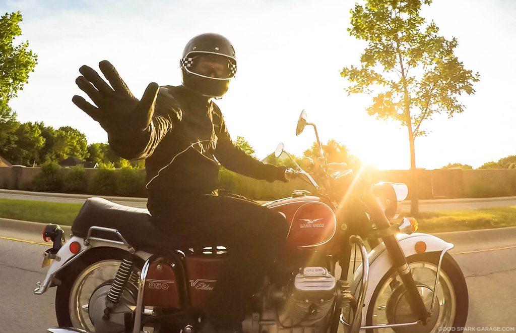 Wilkinson Bros Moto Guzzi Eldorado
