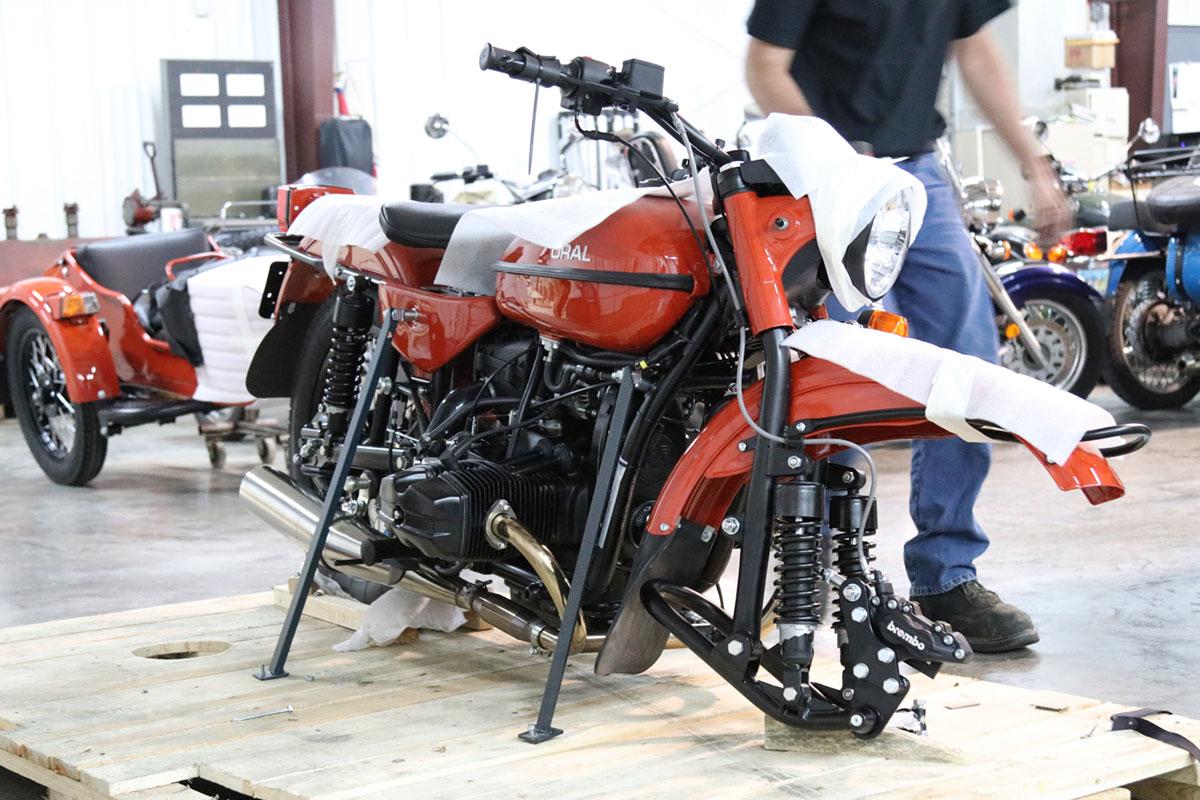 Good Spark Garage Ural cT