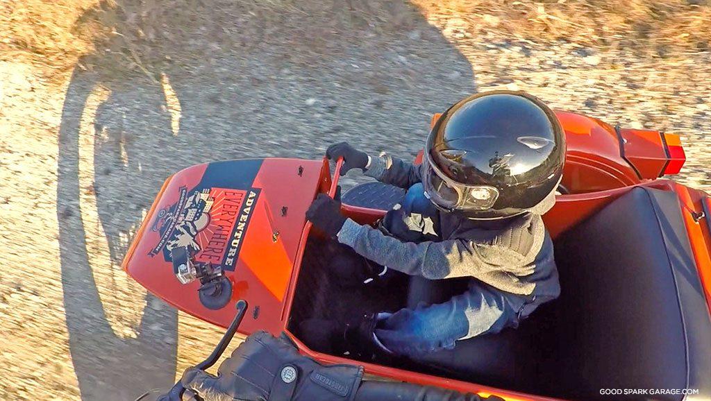 Ural wilkinson bros passenger sidecar kids