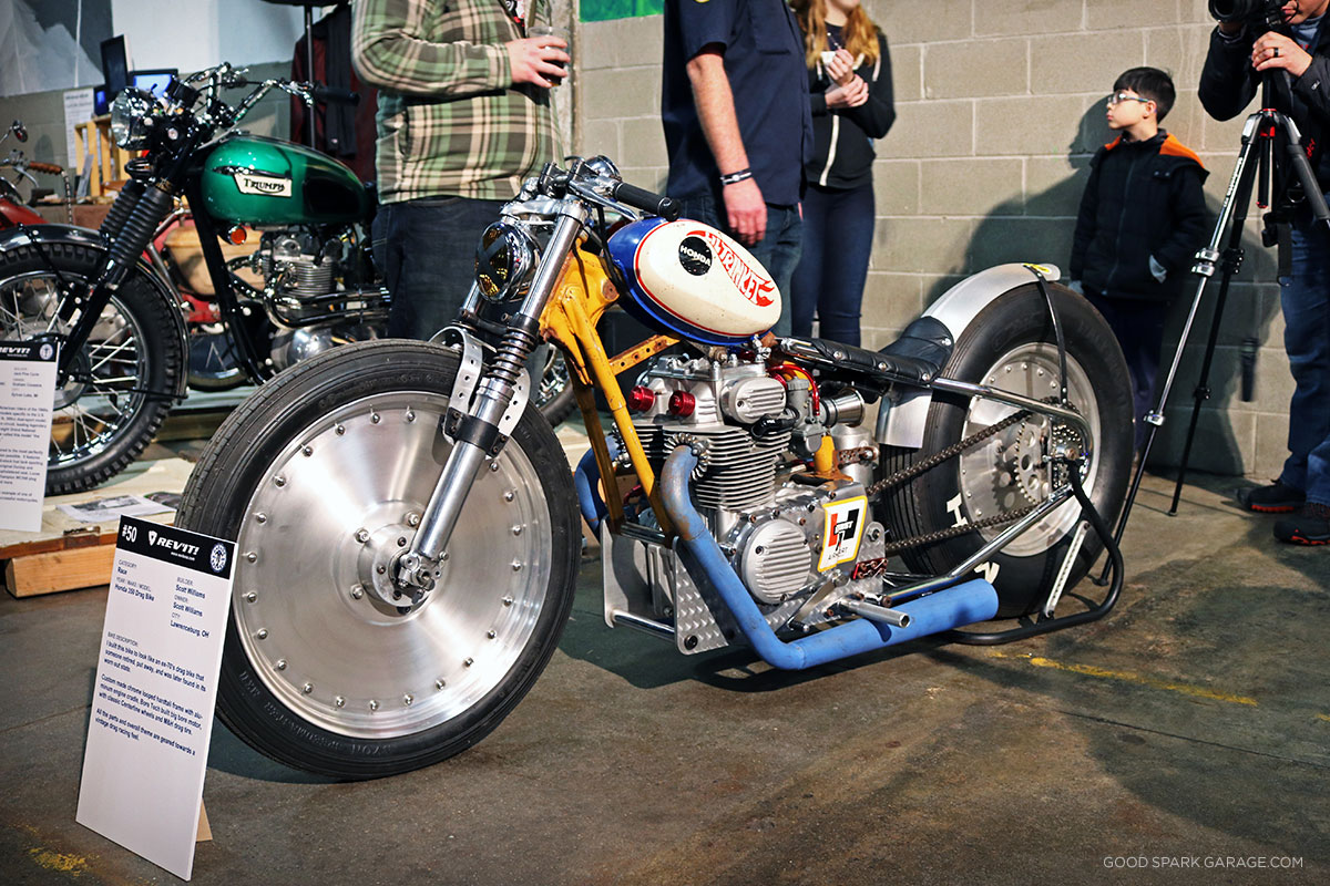 Garage brewed moto show 2017 good spark garage for Garage preparation moto
