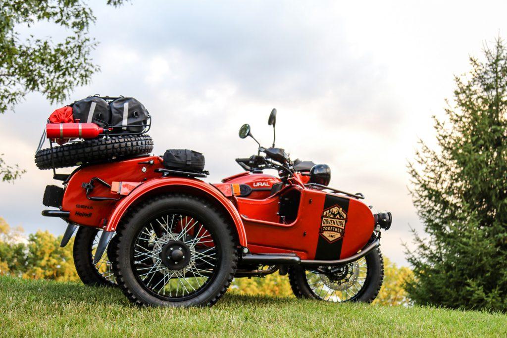 Ural Sidecar Motorcycle