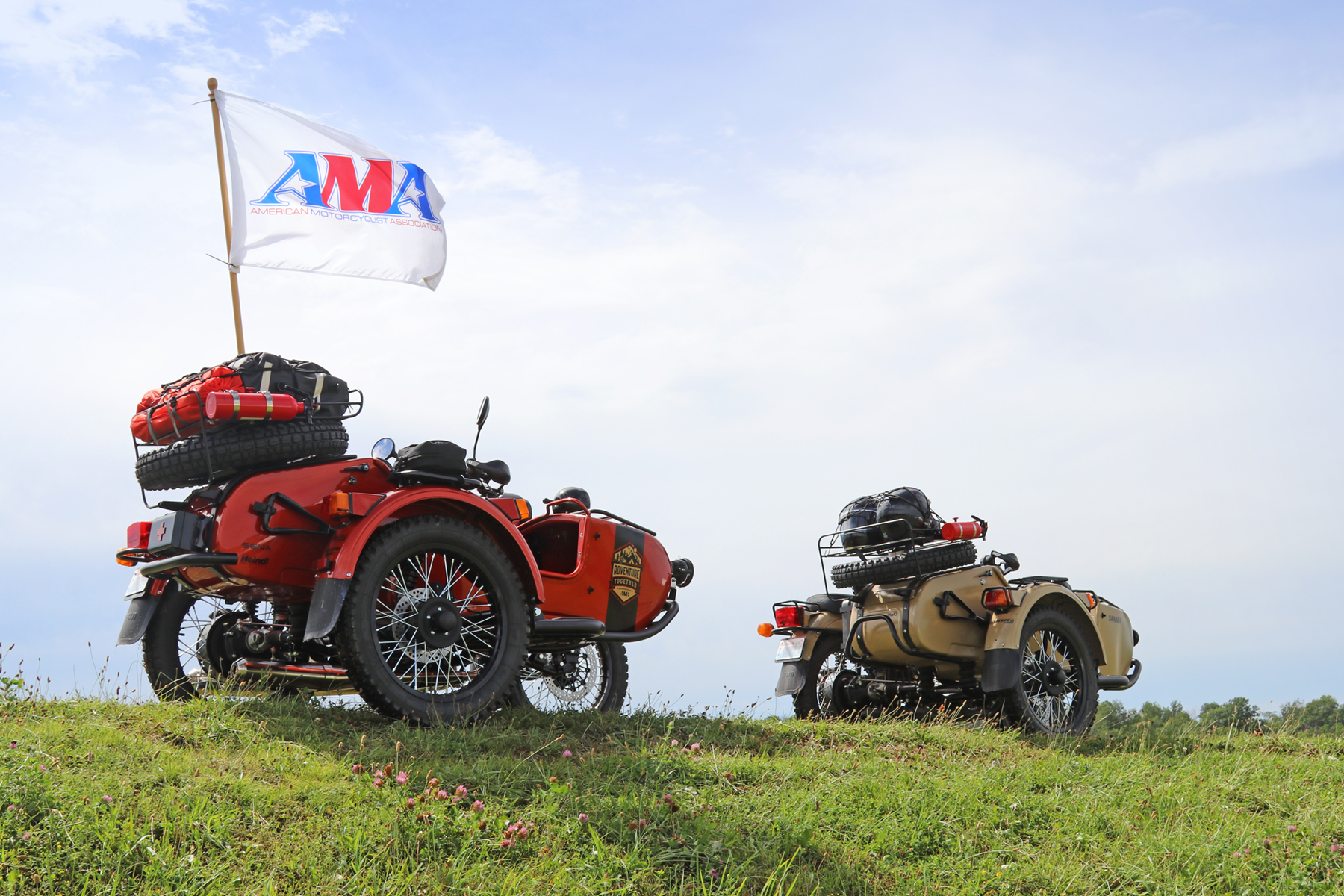 Ural Gear-Up Sidecar Motorcycles
