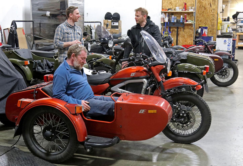Ural Electric Sidecar Motorcycle