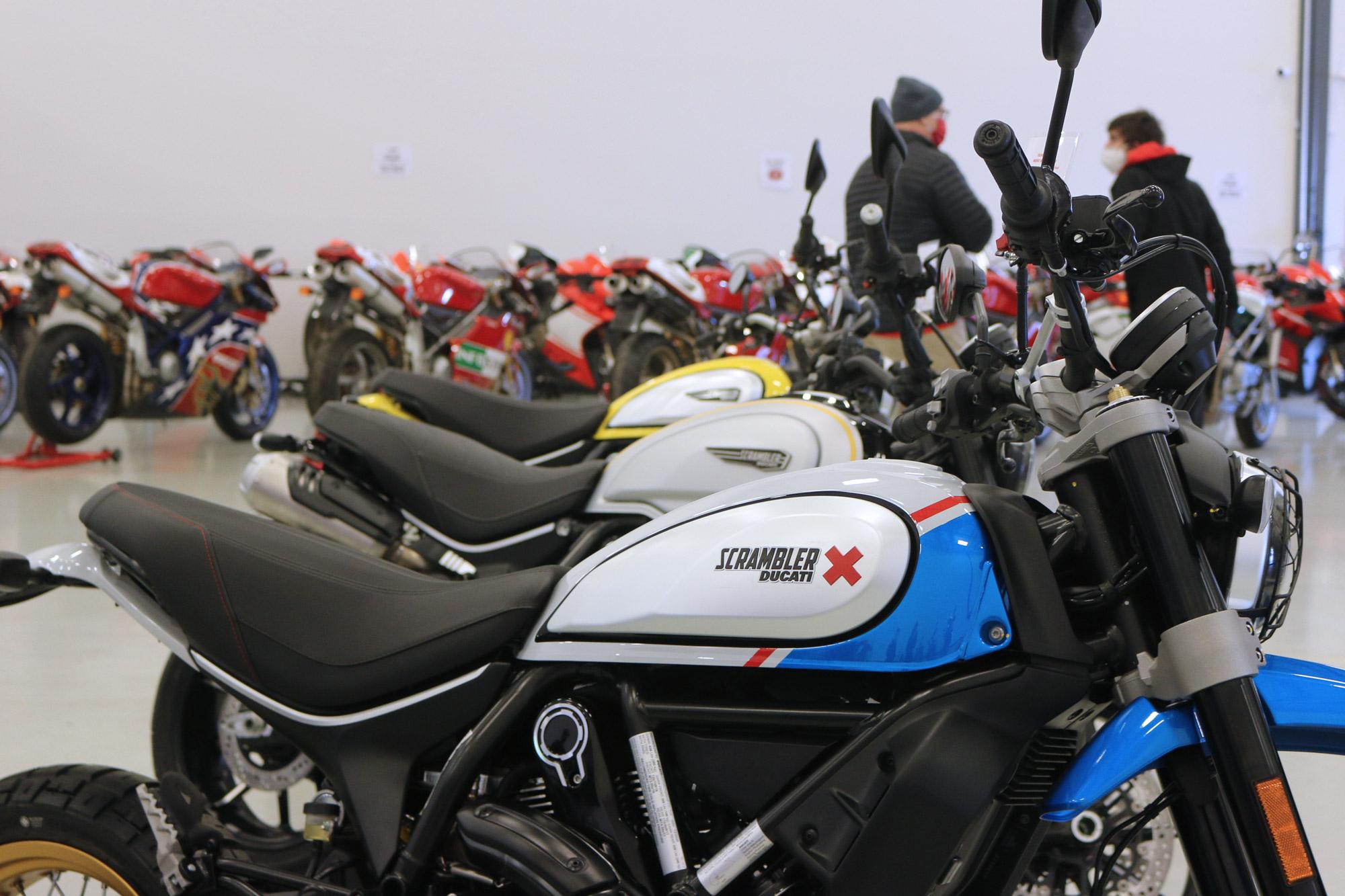 Scrambler Desert Sled - Ducati Indianapolis