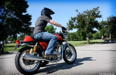 Good Spark Garage Test Rides The Royal Enfield Continental GT