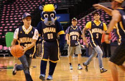 MotoGP Riders At Bankers Life Fieldhouse