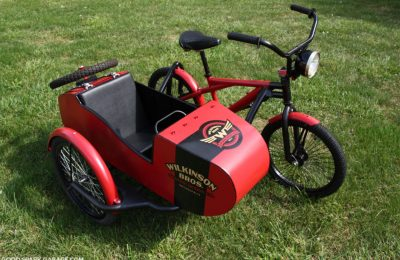 Sidecar Bicycle By Wilkinson Brothers
